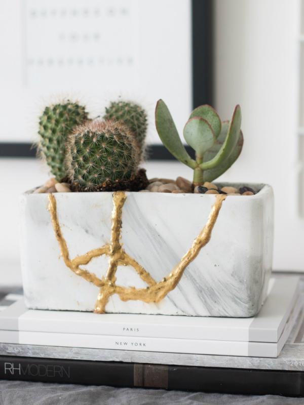 Kintsugi planten pot Mooiwatplantendoen.nl